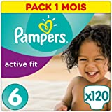 Pampers 帮宝适 Active Fit纸尿裤,6号(15+kg),120片,每月用量