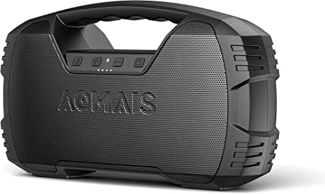 Amazon.com: Portable Waterproof Bluetooth Speaker, AOMAIS 40-Hour Playtime Wireless Outdoor Speakers, 25W Rich Bass Impressive Sound, Stereo Pairing, Built-in Mic, 100ft Bluetooth for Home Party: Home Audio & Theater