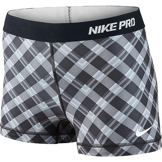 2a304891d0d4 Amazon.com  Nike Women s Pro 2.5 Inch Short 2 Part - Large - Black ...