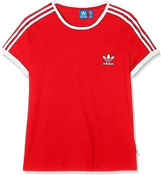 t-shirt adidas femme rouge