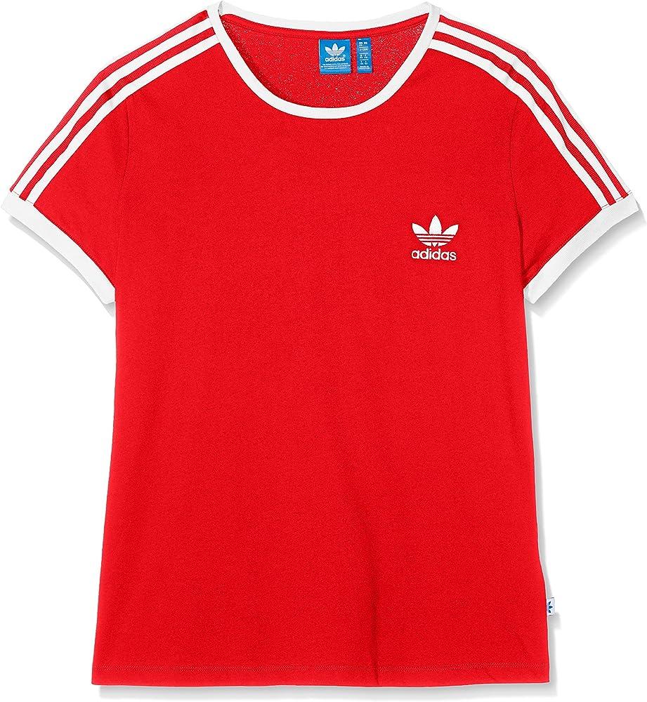 adidas Sandra 1977 Camiseta, Mujer, Rojo (Rojbas), 28: Amazon.es: Deportes y aire libre