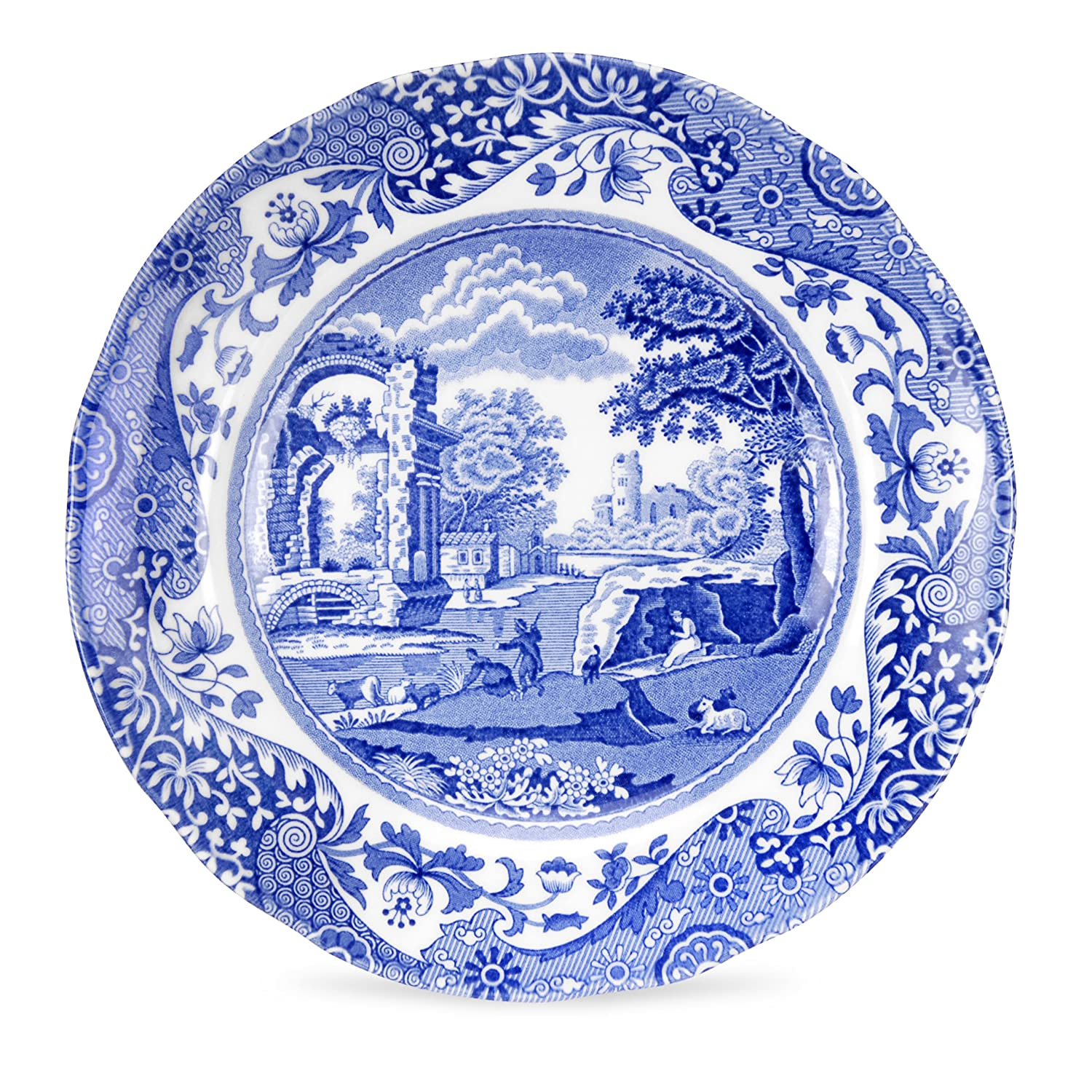 Amazon.com | Spode Blue Italian Bread and Butter Plate Set of 4 Bread u0026 Butter Plates  sc 1 st  Amazon.com & Amazon.com | Spode Blue Italian Bread and Butter Plate Set of 4 ...