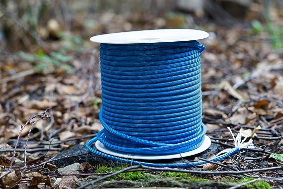 Trexi - Cuerda de Paracord con 250 kg de Carga Probada, con 7 núcleos de Playa, 100 m de Bobina de Cuerda para paracaídas, Azul, 100 m: Amazon.es: Deportes ...