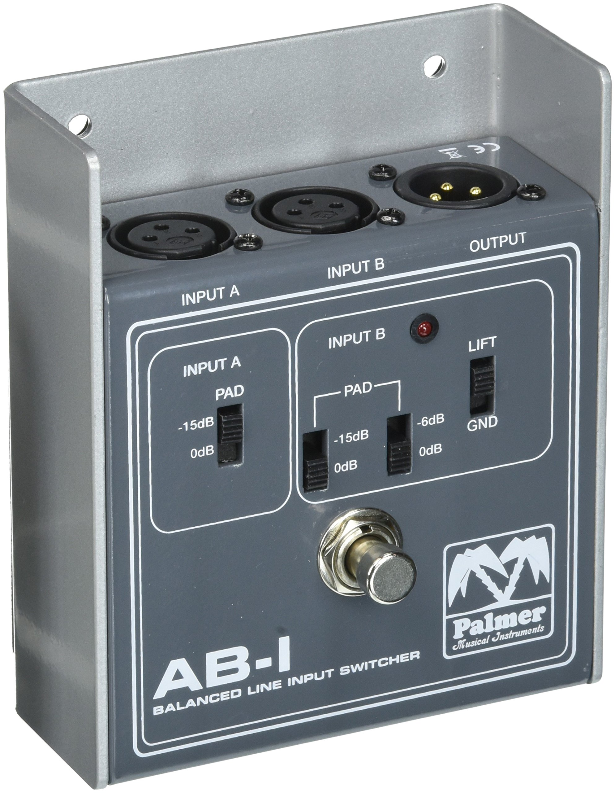 Palmer PAL-PEABI Balanced line input switcher by Palmer