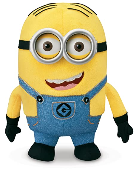 amazon com despicable me minion dave plush toys games