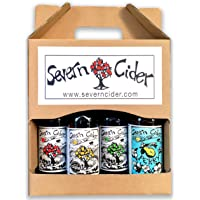 4 x 330ml bottle Gift Pack of Severn Cider mixed ciders and perry