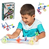 Brackitz Driver STEM Building Toy for Kids Ages 4, 5 and 6+ Year Olds   Boys & Girls Creative Fun Learning Toys   Best…