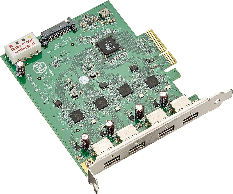 Delock Pci Express X4 Karte Zu 4 X Extern Usb 3 0 Quad Elektronik