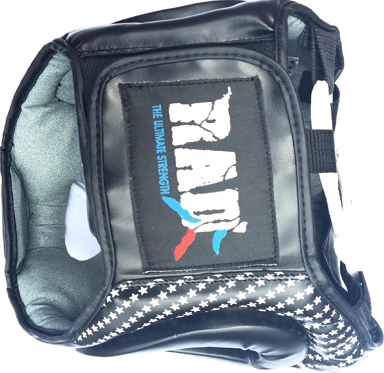 RAD Boxe MMA Protector Headgear UFC Fighting Head Guard Sparring Casco Junior Senior Unisex