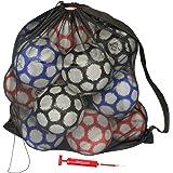 GoSports - Bolsa de Malla Premium con Bomba de Bola Deportiva, Ideal para Todos los Deportes (fútbol, fútbol, Baloncesto, Vol