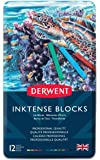 Derwent Inktense Ink Blocks, 12 Count (2300442)