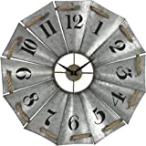 Sterling Industries 129-1091 Aluminum and Rope Wall Clock
