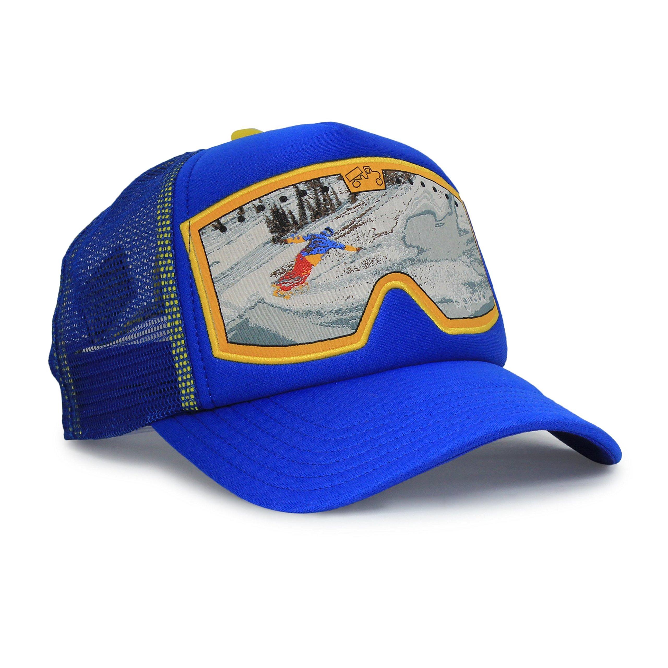 bigtruck Blue Original Kids Trucker Hat, Blue C, 54cm