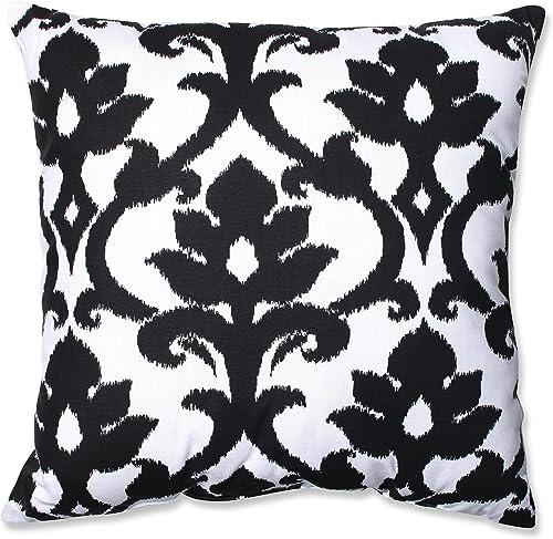 Pillow Perfect Azzure Floor Pillow, 24.5-Inch, Black