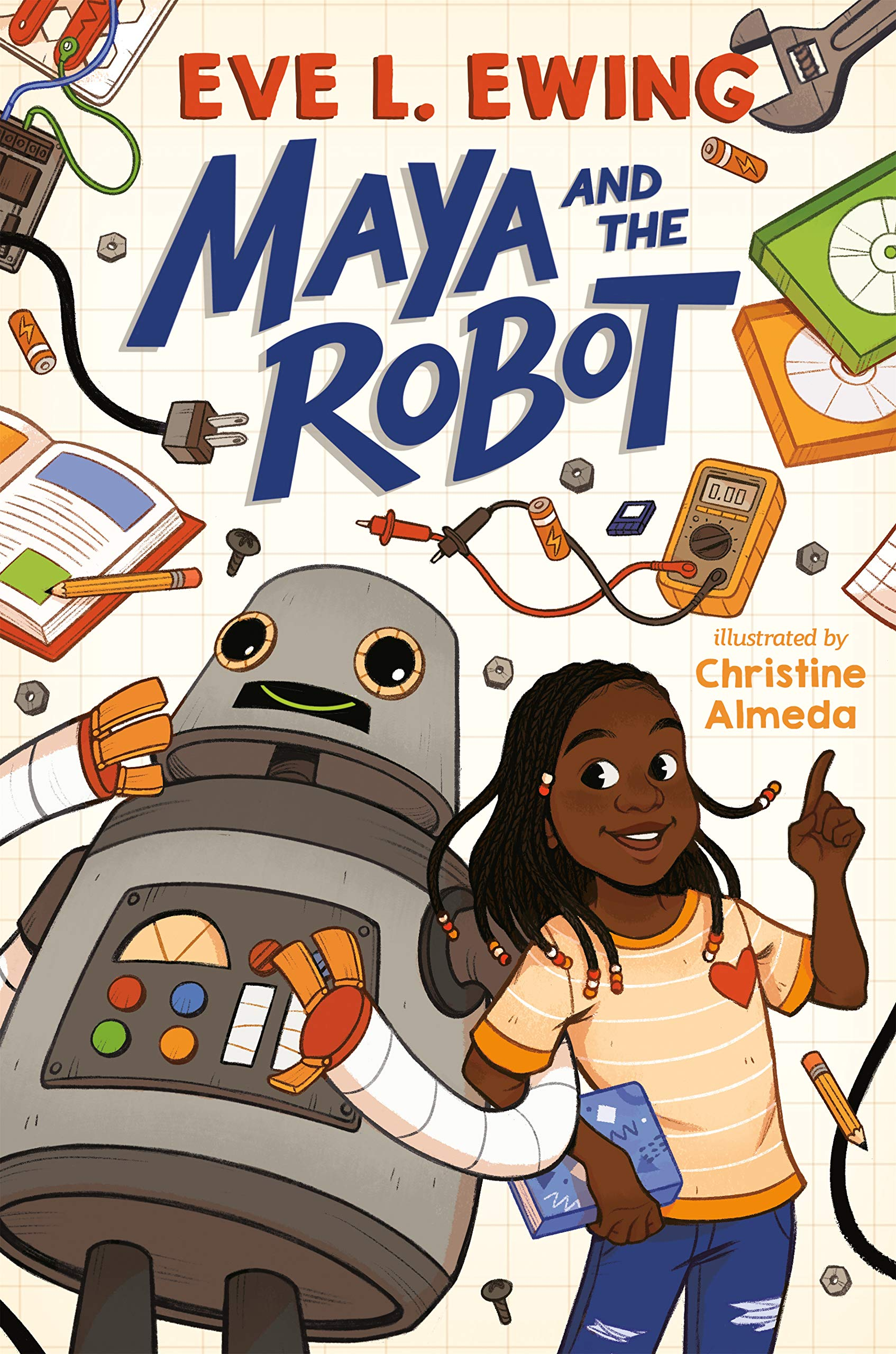 Amazon.com: Maya and the Robot (9781984814630): Ewing, Eve L., Almeda,  Christine: Books