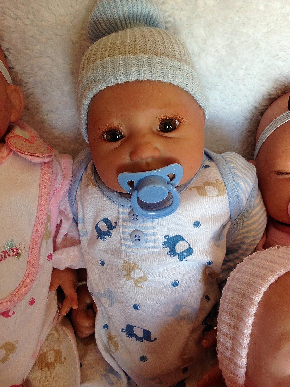 Amazon.es: Reborn bebé muñeca Lilian, Heavy, 22 cm de largo ...