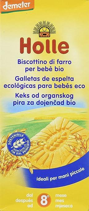 Holle Galletas de Espelta para Niños - 150 gr: Amazon.es: Alimentación y bebidas