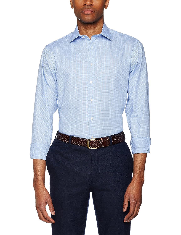 Hackett London Graph Gingham Camisa para Hombre