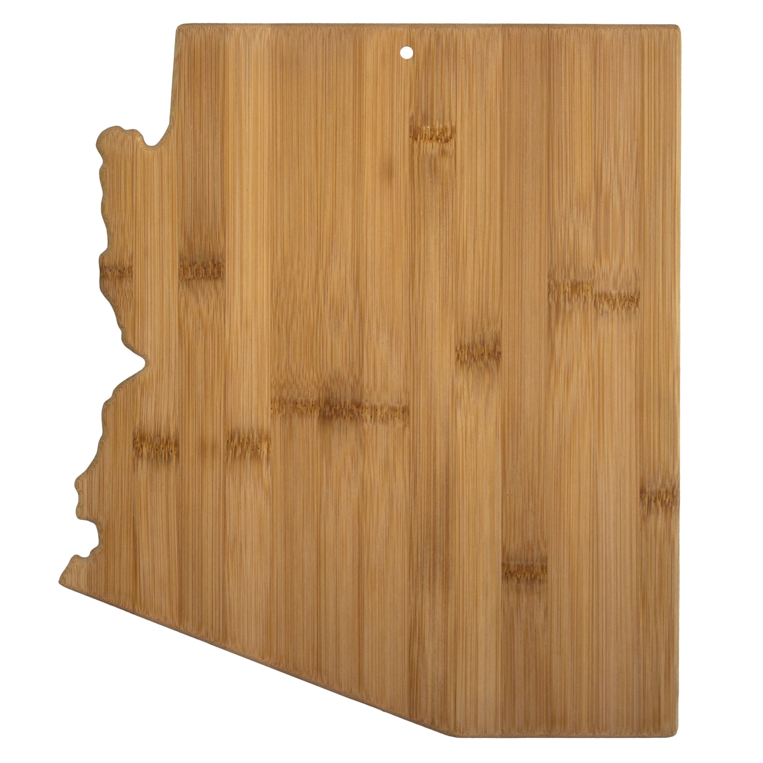 Totally Bamboo Arizona State Shaped Bamboo Serving and Cutting Board