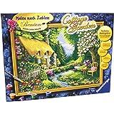 Ravensburger 28843 - Cottage Garden - Malen nach Zahlen, 40 x 30 cm