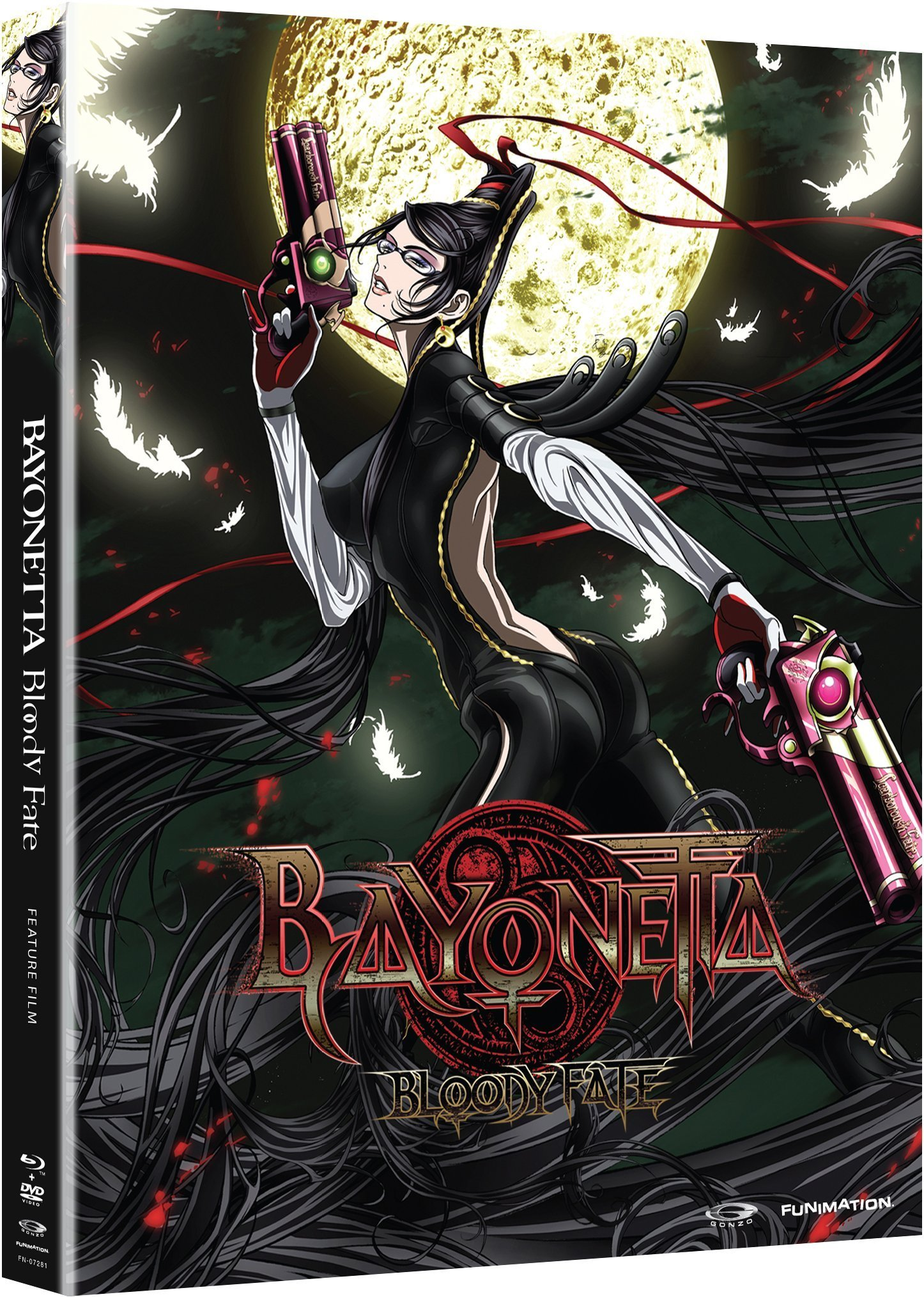 Blu-ray : Bayonetta: Bloody Fate - Anime Movie (With DVD, 2 Pack, , 2 Disc)