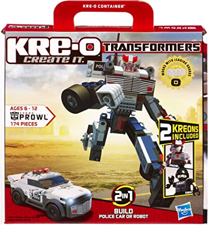 Kreon figure Transformers Police. Kre-O 2010-Hasbro