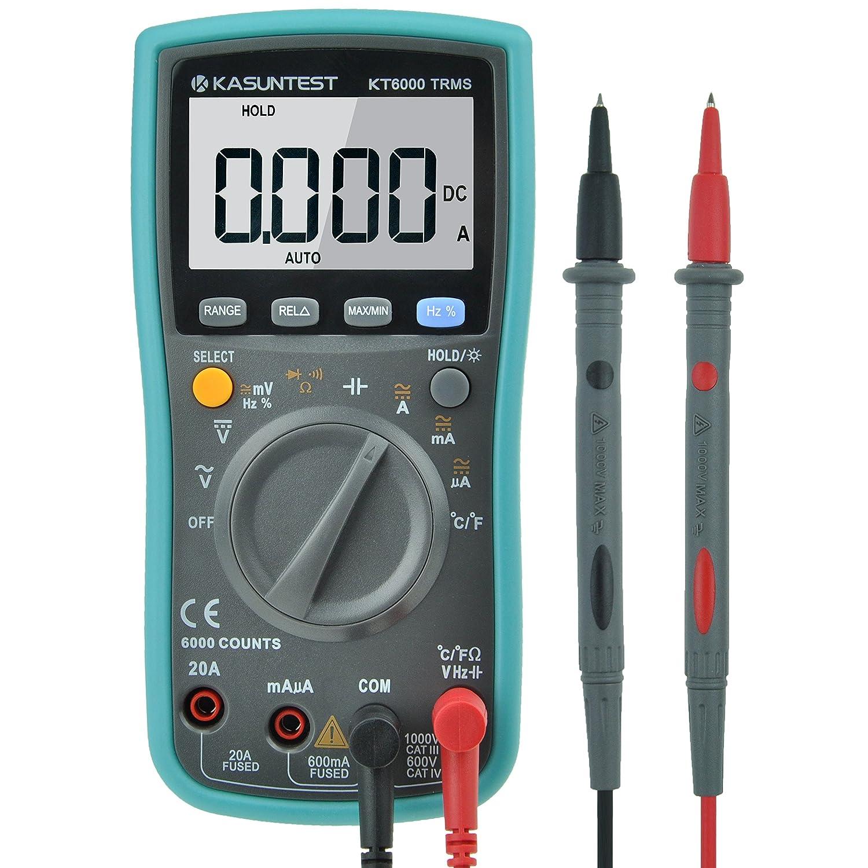 Digital Electrical Tester : Kasuntest counts trms auto ranging digital multimeter