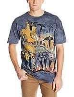 Mountain Erwachsen Flight of Shaman Indianer T Shirt