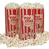 Popcorn Bags Vintage Retro Style - Coated
