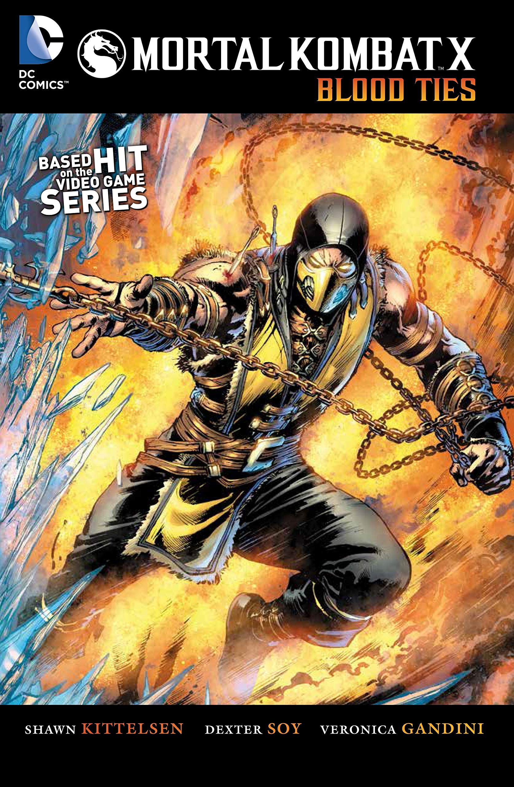 Mortal Kombat X Vol  1: Blood Ties: Shawn Kittelsen, Dexter