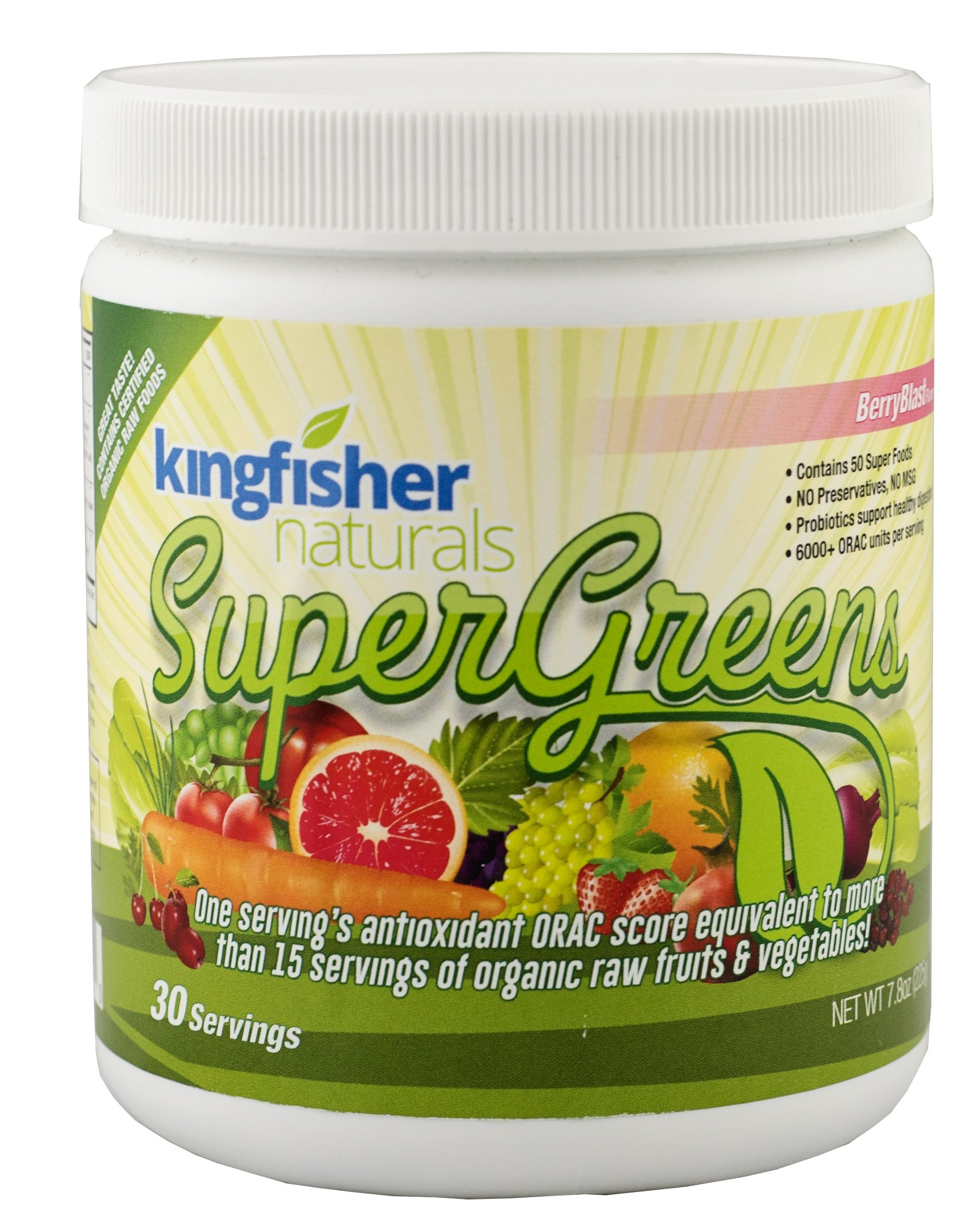 Naturals SuperGreens - Loaded with 50 Super Foods , 30 Day Supply
