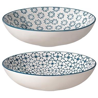 Bloomingville Pasta Bowls Kristina Set of 2 Styles