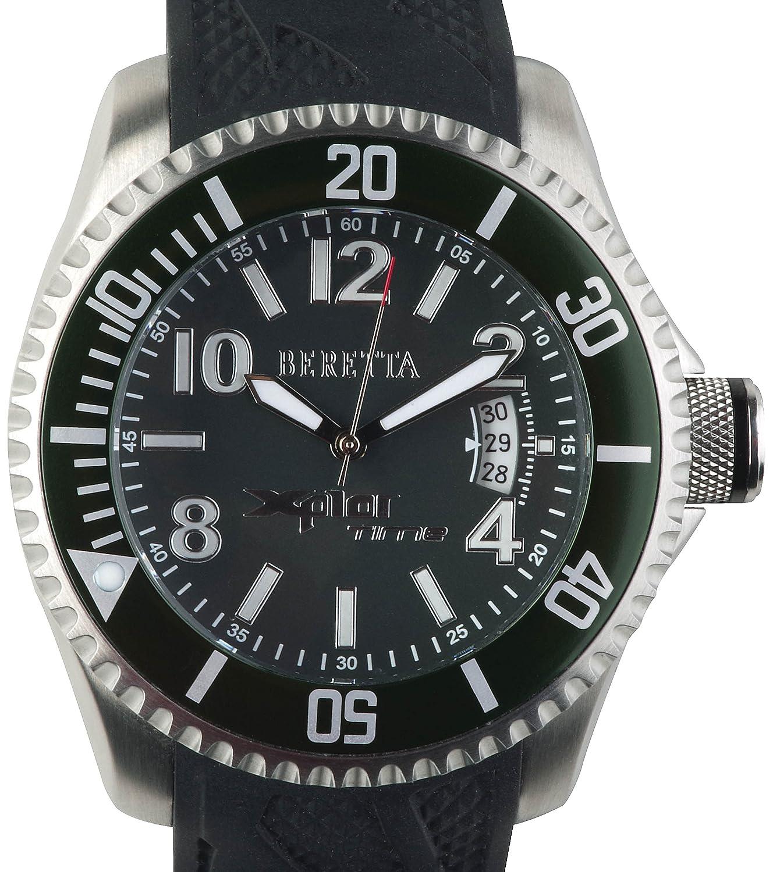 Beretta Armbanduhr Xplor Time - grÜn-silver - OR10-0002-0730