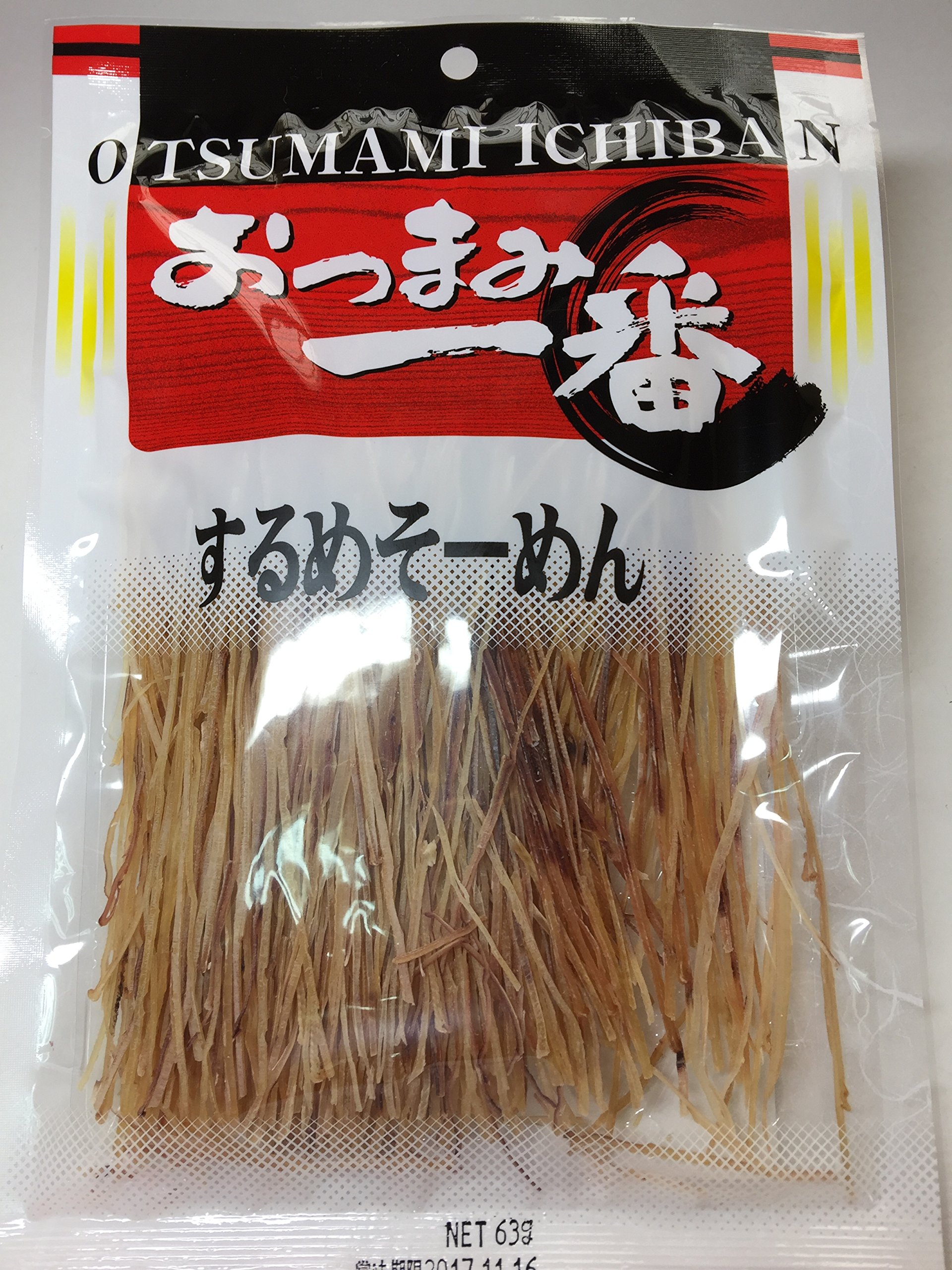 KANETA Two One KTO IKA SURUME SOMEN Squid Noodles 63g by Marumi food