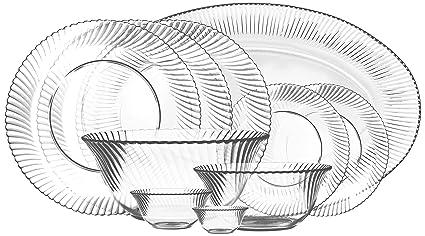 Treo Mi-Casa Microwaveble Dinner Set 28 Pcs  sc 1 st  Amazon.in & Buy Treo Mi-Casa Microwaveble Dinner Set 28 Pcs Online at Low ...