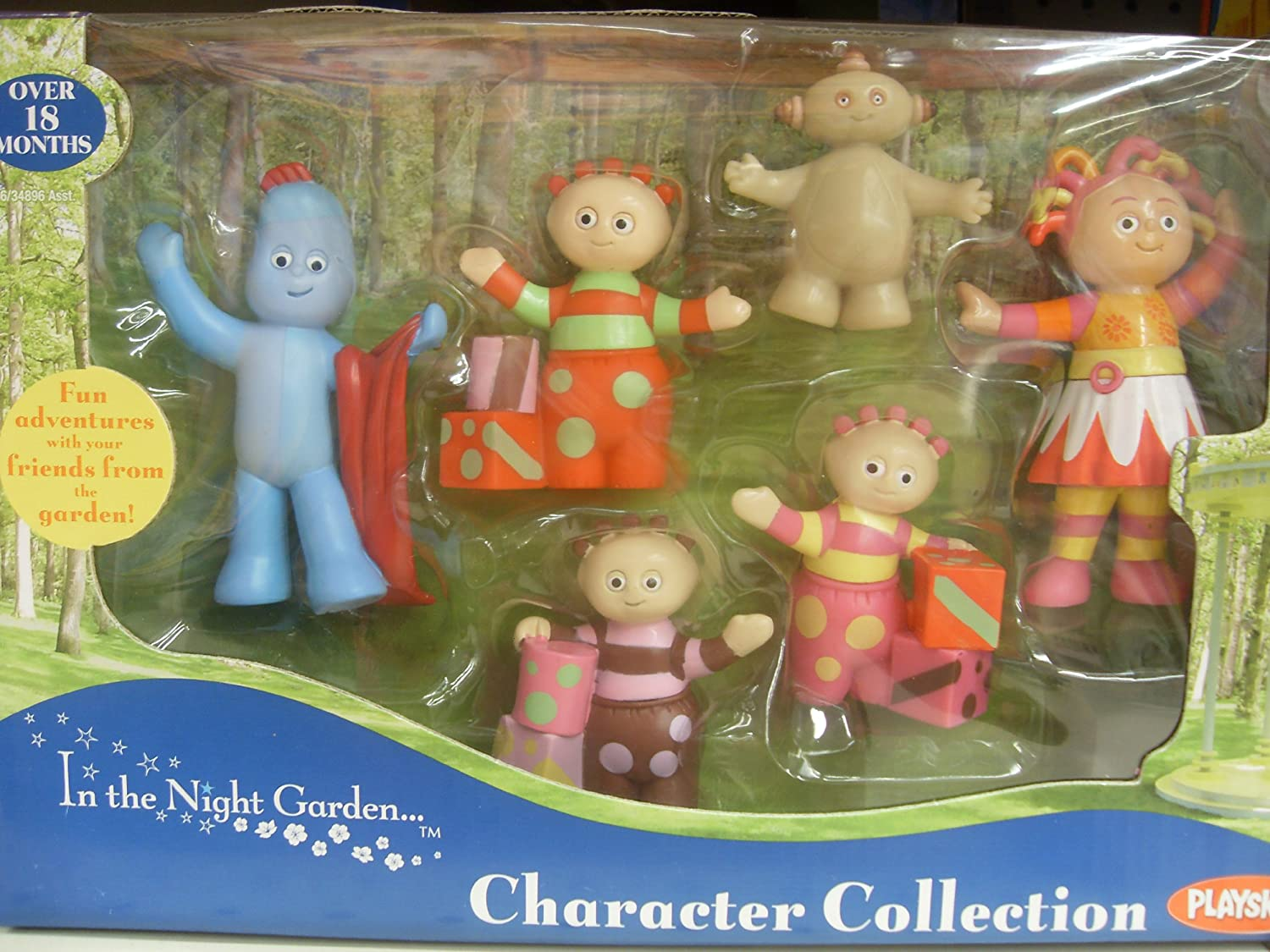 In the night garden character collection figure set Amazoncouk