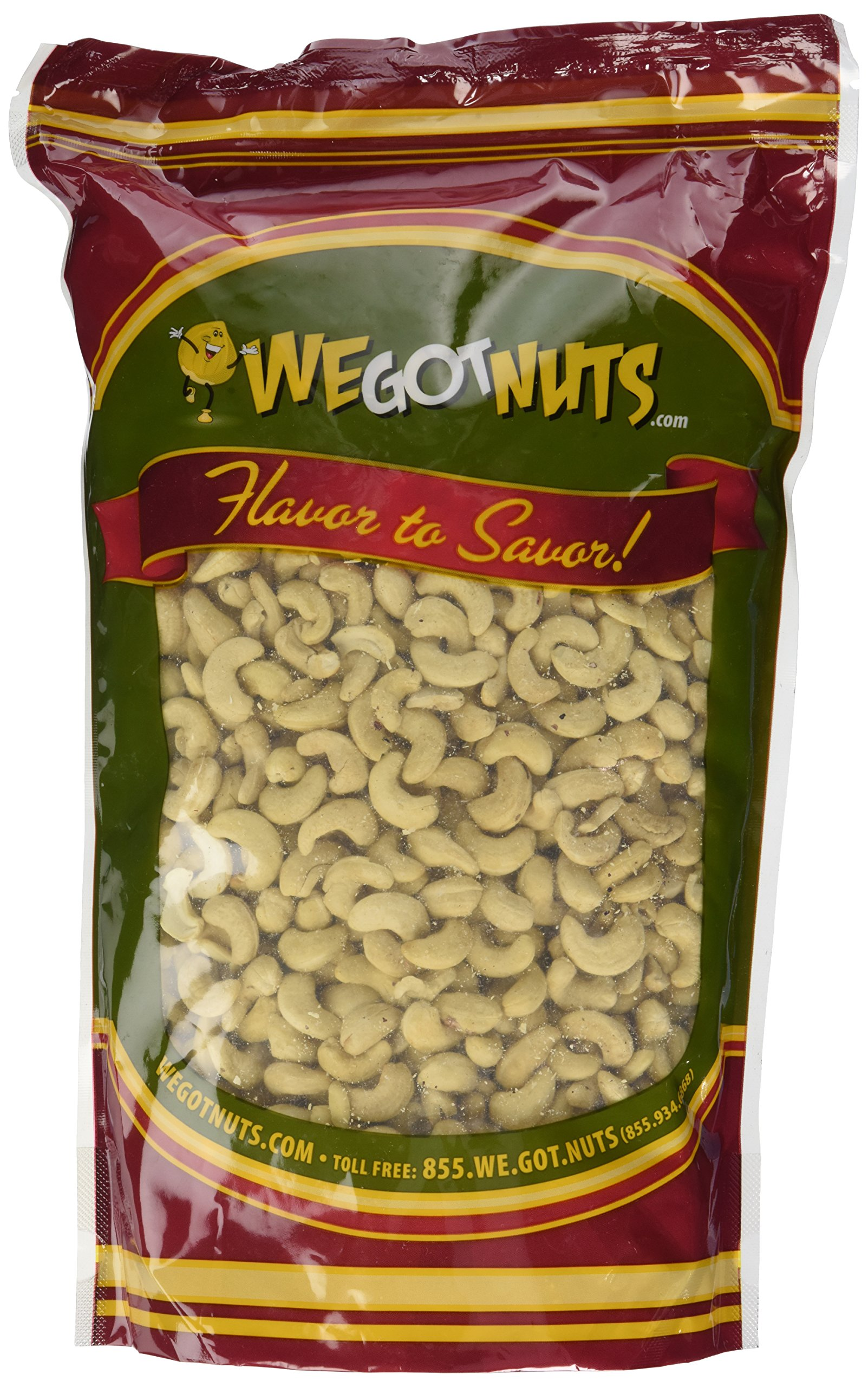 Cashews, Whole, Raw, 320, Bulk Nuts - We Got Nuts (5 LBS.) by We Got Nuts (Image #2)
