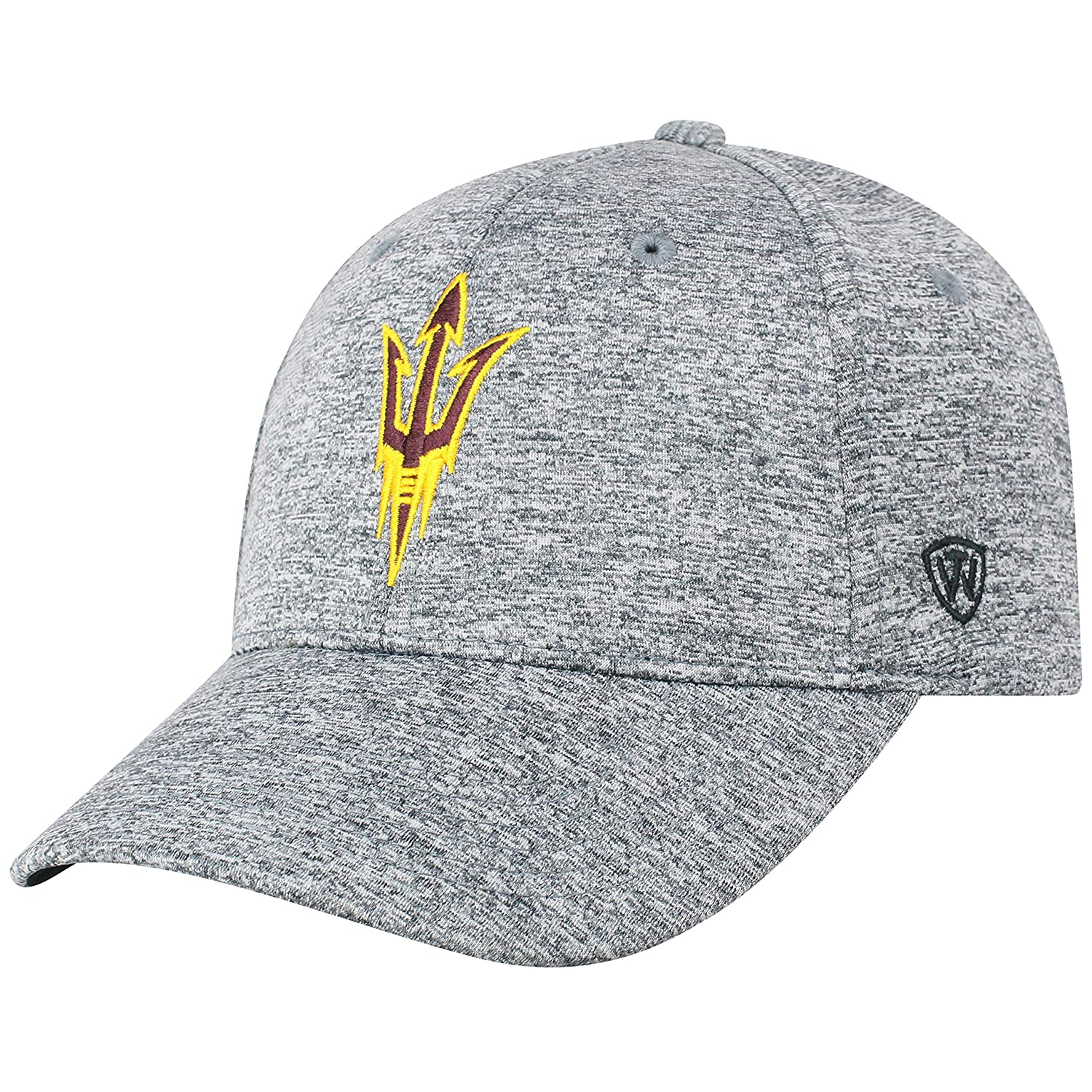 Top of The World NCAA Mens Hat Adjustable Steam Charcoal Icon