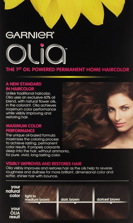 Garnier olia permanent hair colour golden brown 5 3 - Amazon Com Garnier Olia Oil Powered Permanent Hair Color 5 35 Medium Golden Mahogany Beauty