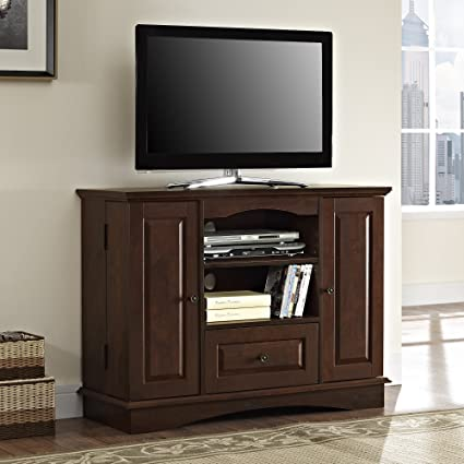 Amazing Walker Edison 42u0026quot; Highboy Style Wood TV Stand Console, ...