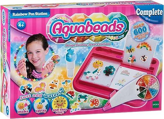 Aquabeads-79118 Rainbow Pen Station, Multicolor (Epoch 79118) , Modelos/colores Surtidos, 1 Unidad: Amazon.es: Juguetes y juegos