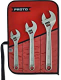 Stanley Proto J790 Proto 3-Piece Click-Stop Adjustable Wrench