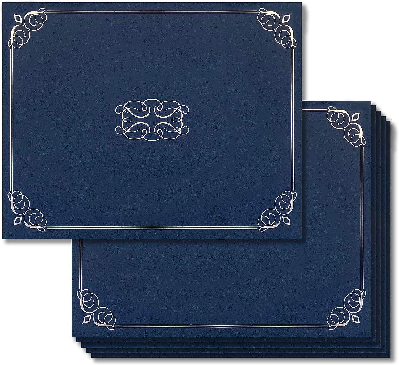 Certificate Holder Black, 24//Pack Multi Pack