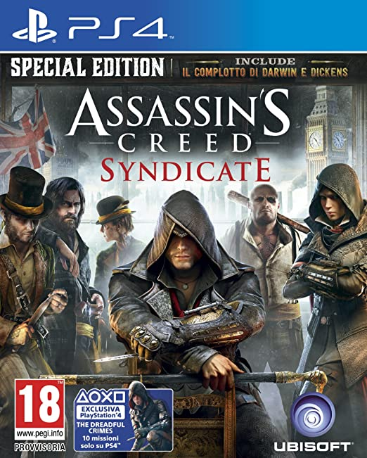 181 opinioni per Assassin's Creed: Syndicate- Day-One Edition- PlayStation 4