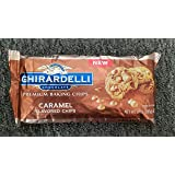 Ghirardelli Premium Baking Chips, Caramel flavored, 10 oz, Pack of 2