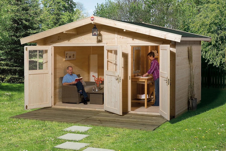 Weka Gartenhaus 261 Größe 2 28 mm