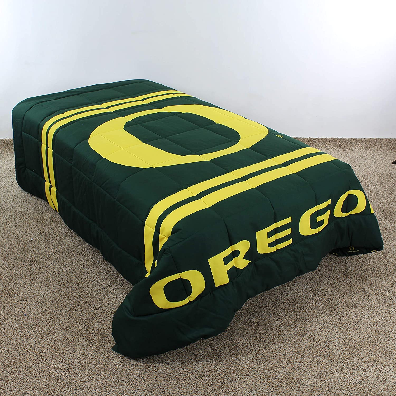 College Covers Oregon Ducks Comforter Set Twin Team Color