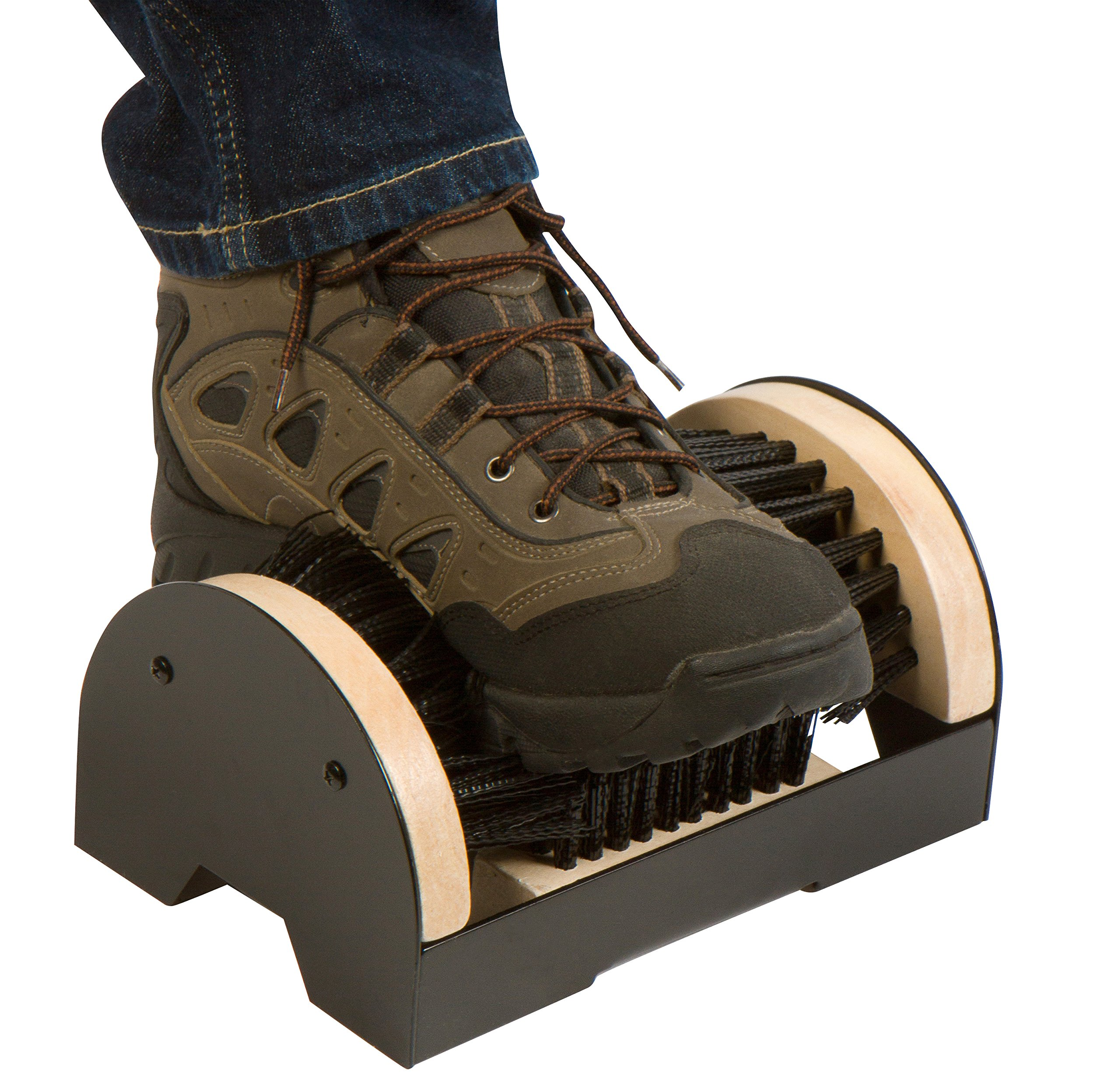 Boot and Shoe Brush Cleaner Scraper For Outdoor Mud by Trademark Innovations by Trademark Innovations (Image #2)
