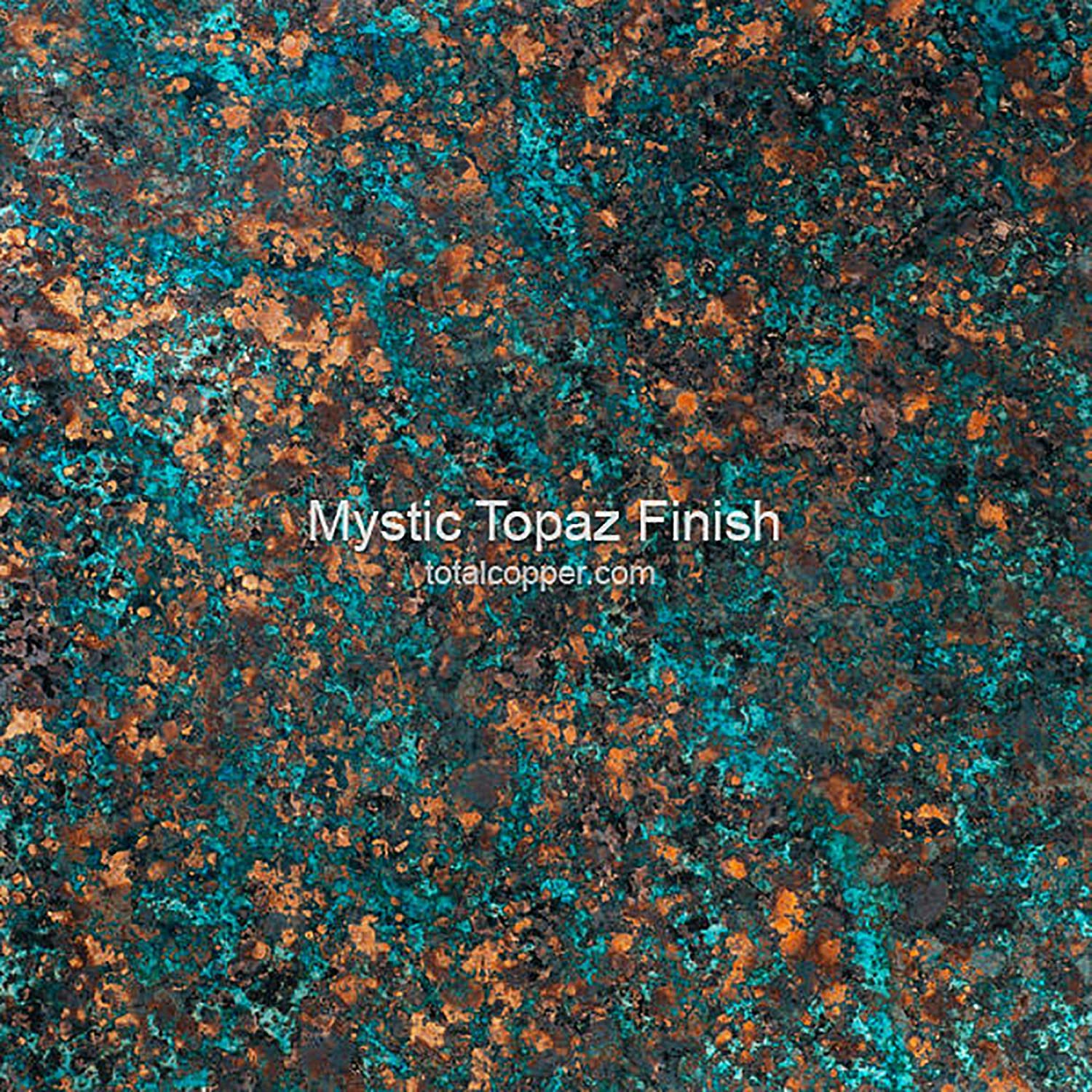 - Amazon.com: Mystic Topaz Patina - Copper Sheet - Heavy 24 Gauge