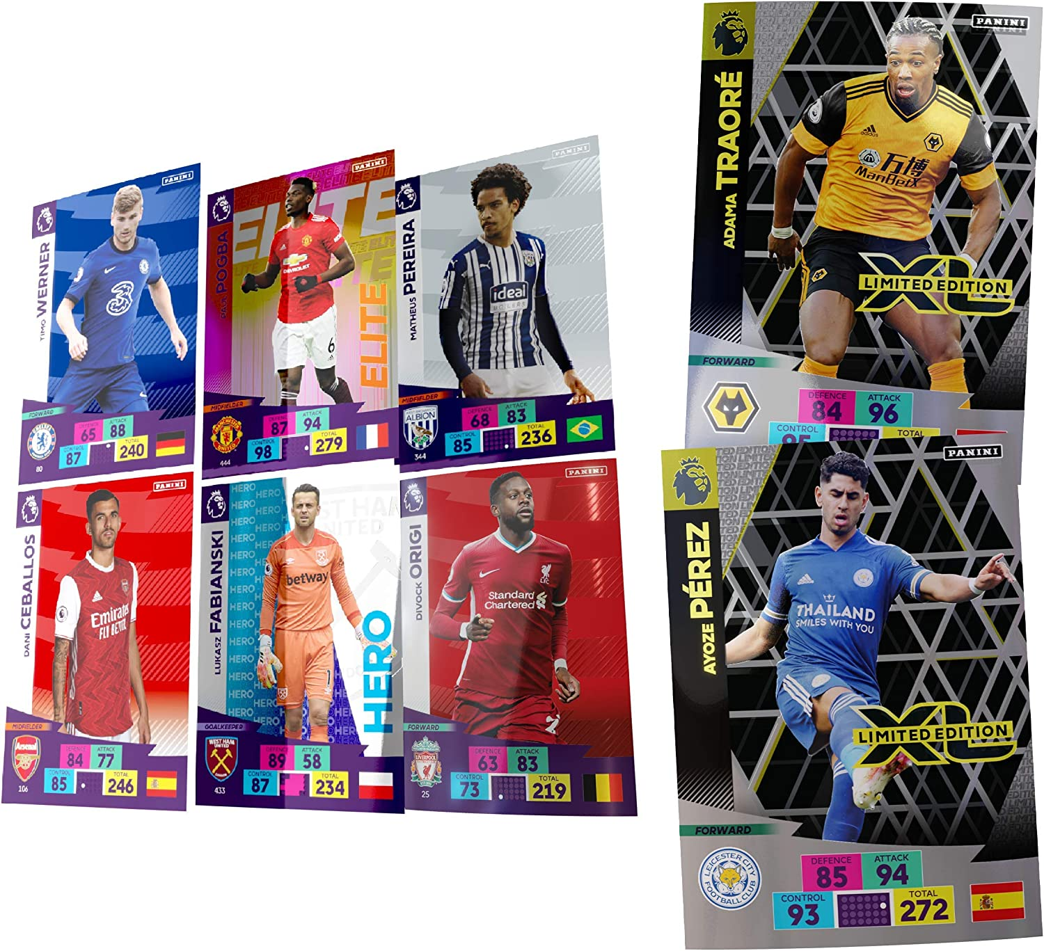 Panini Premier League 2020//21 Adrenalyn XL Classic Tin